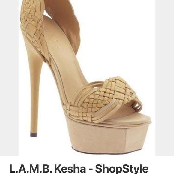 fda6996203b L.A.M.B. Kesha Heels Size 7.5 Brand New NWT